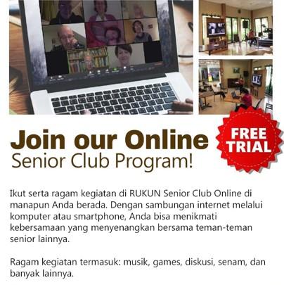 RUKUN Senior Club Online